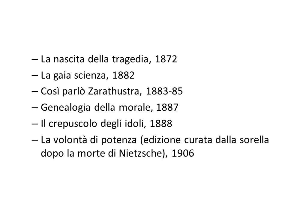 La nascita della tragedia, 1872