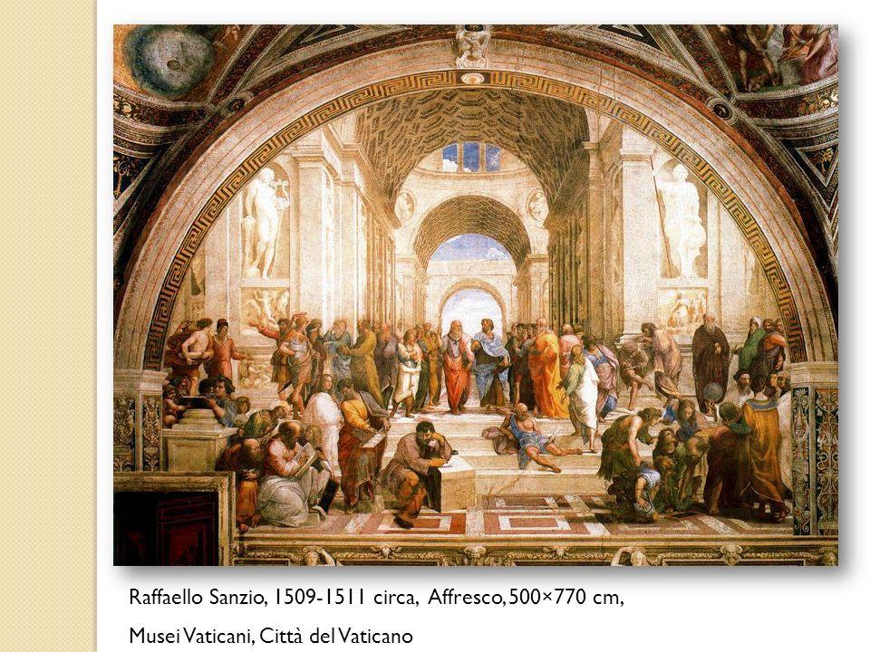 Raffaello Sanzio, 1509-1511 circa, Affresco, 500×770 cm,