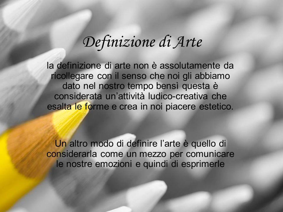 Definizione di Arte