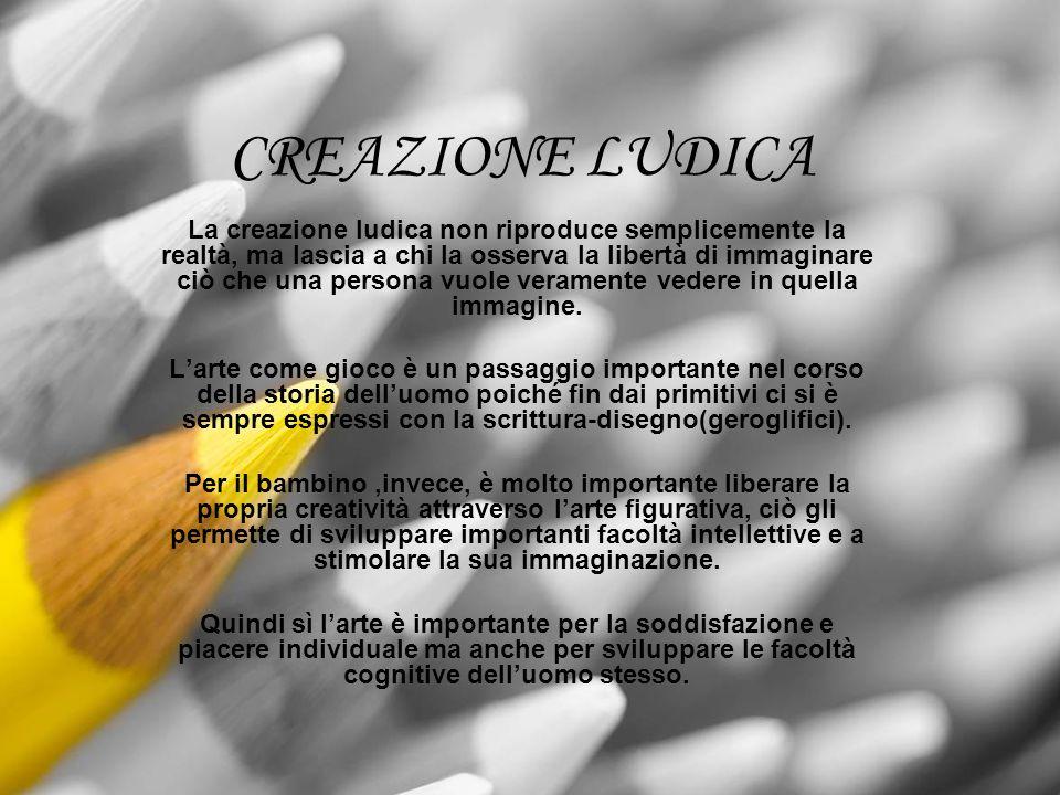 CREAZIONE LUDICA