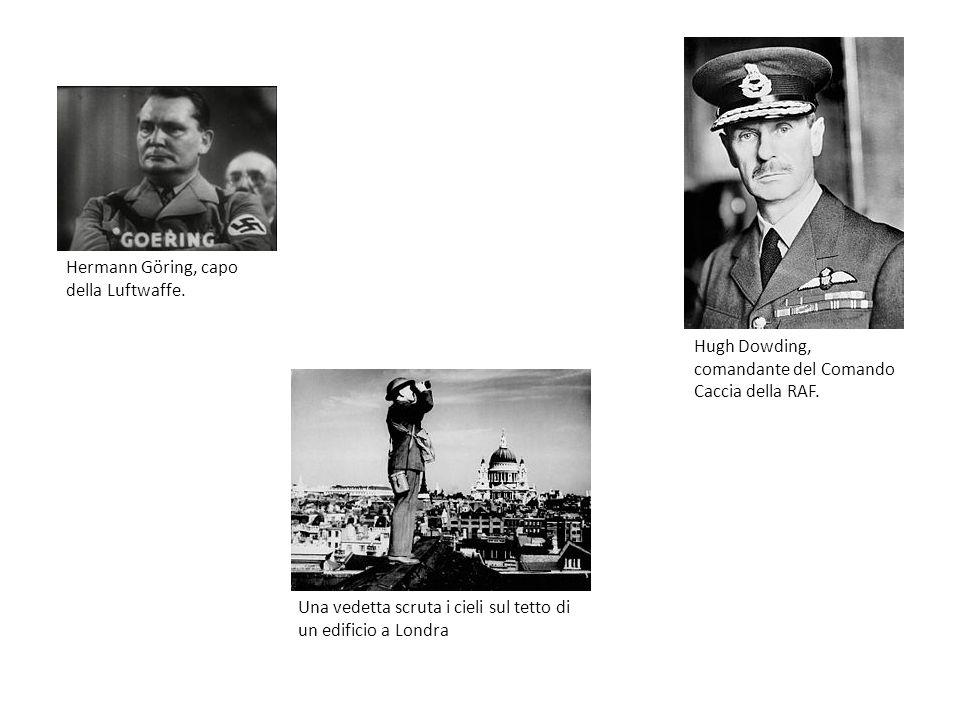 Hermann Göring, capo della Luftwaffe.