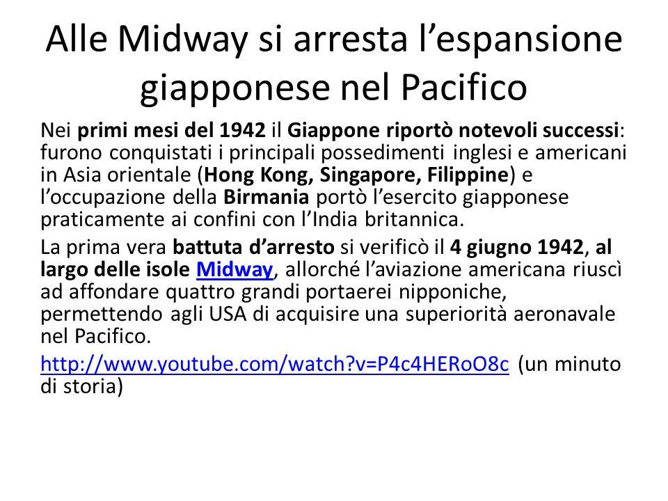 Alle Midway si arresta l'espansione giapponese nel Pacifico