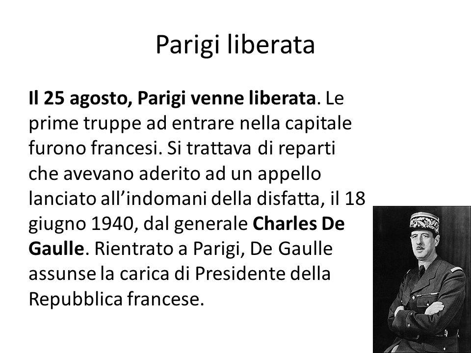 Parigi liberata
