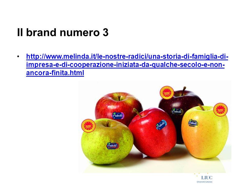 Il brand numero 3