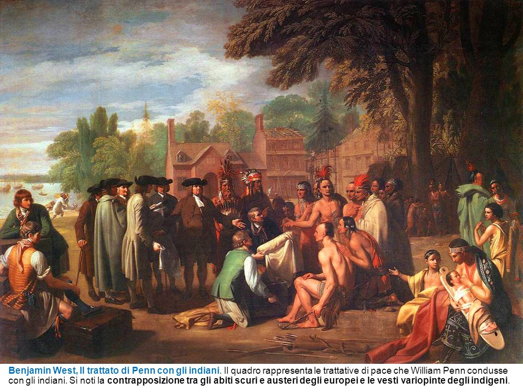 Benjamin West, Il trattato di Penn con gli indiani
