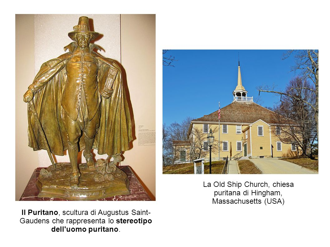La Old Ship Church, chiesa puritana di Hingham, Massachusetts (USA)