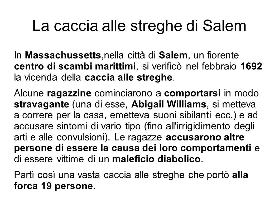 La caccia alle streghe di Salem