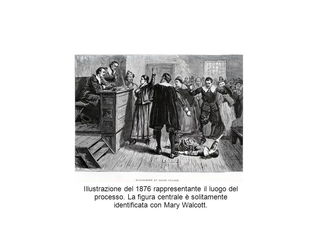 Illustrazione del 1876 rappresentante il luogo del processo