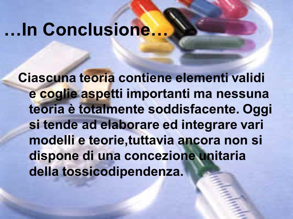 …In Conclusione…