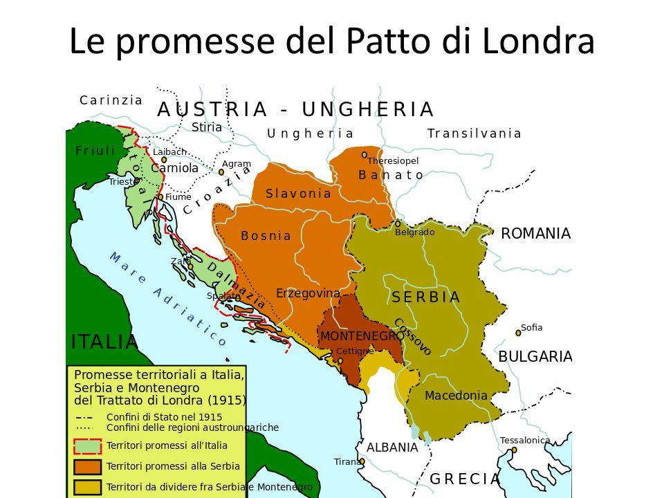 Le promesse del Patto di Londra