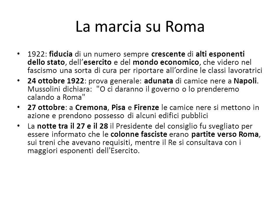 La marcia su Roma