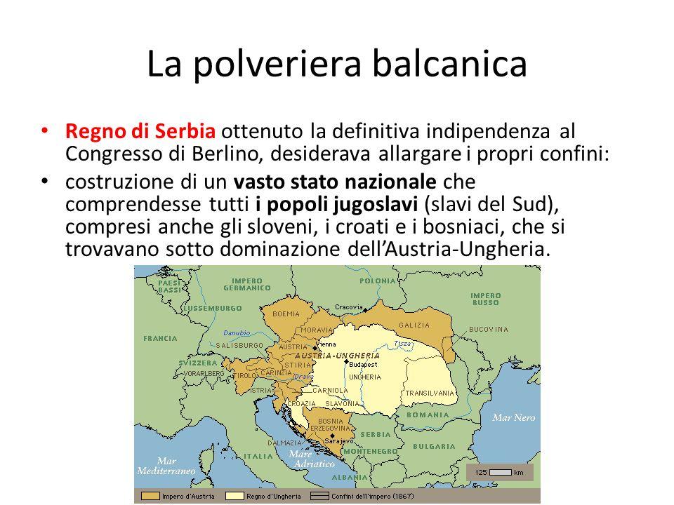 La polveriera balcanica