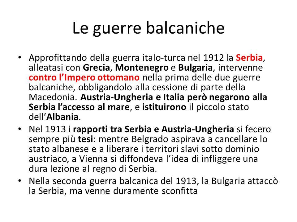 Le guerre balcaniche