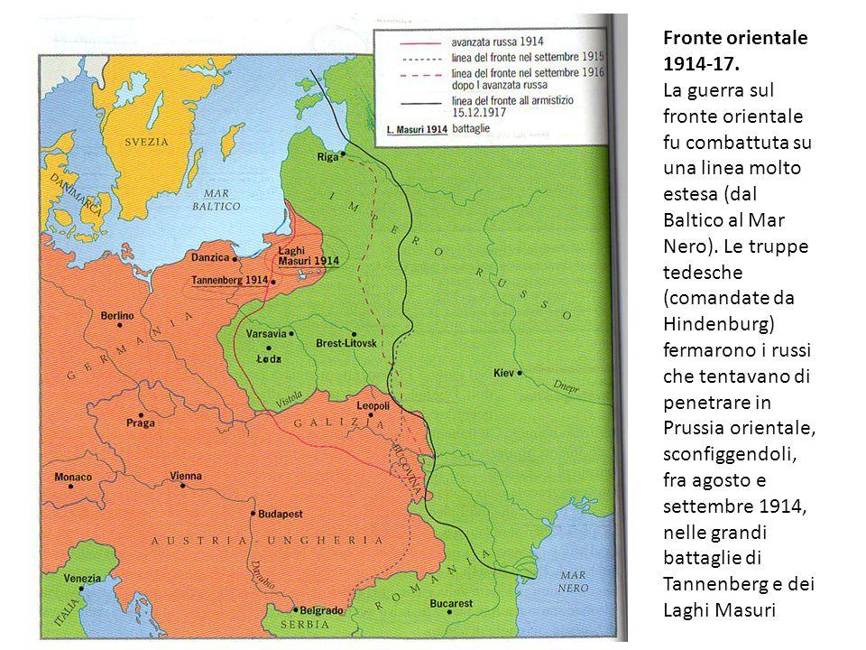 Fronte orientale 1914-17.