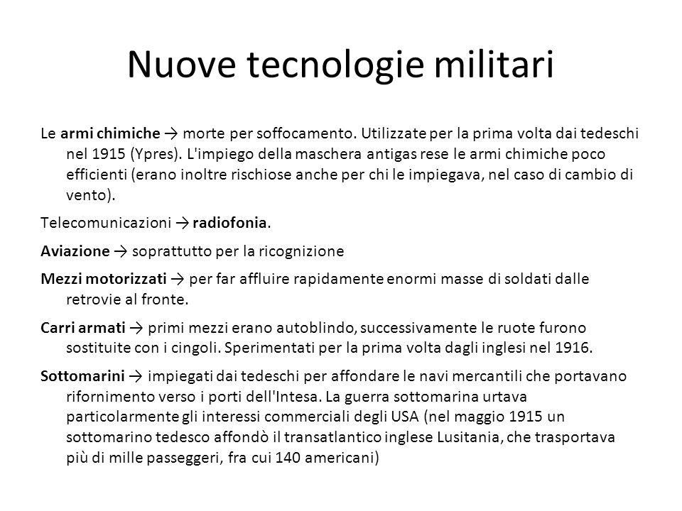 Nuove tecnologie militari