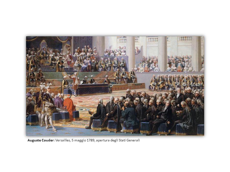 Auguste Couder: Versailles, 5 maggio 1789, apertura degli Stati Generali