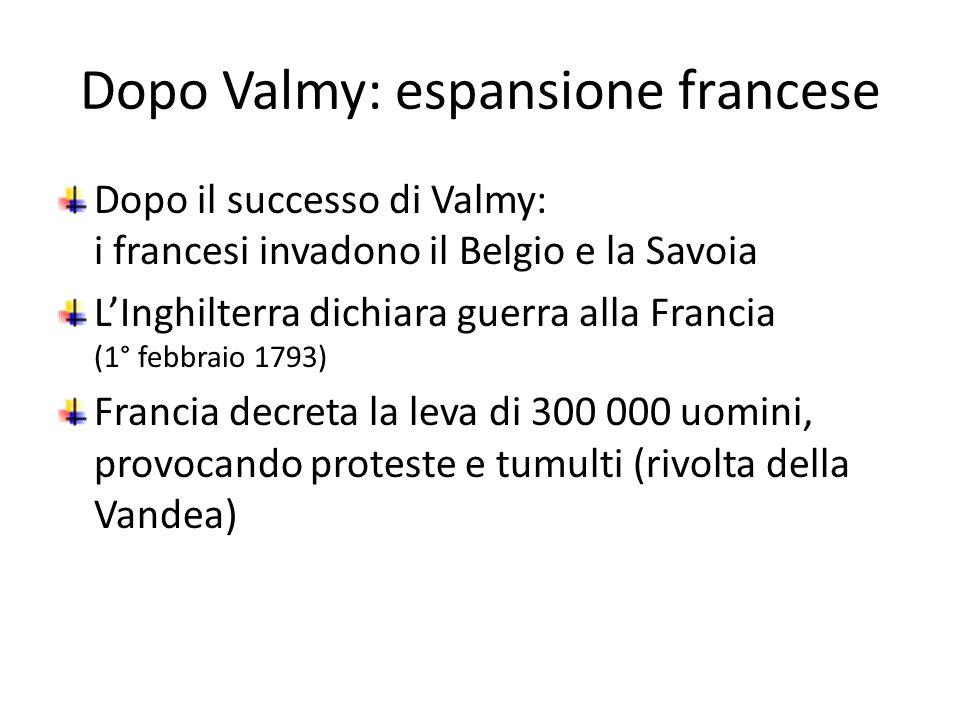 Dopo Valmy: espansione francese