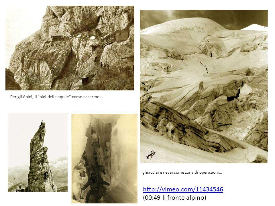 http://vimeo.com/11434546 (00:49 Il fronte alpino)