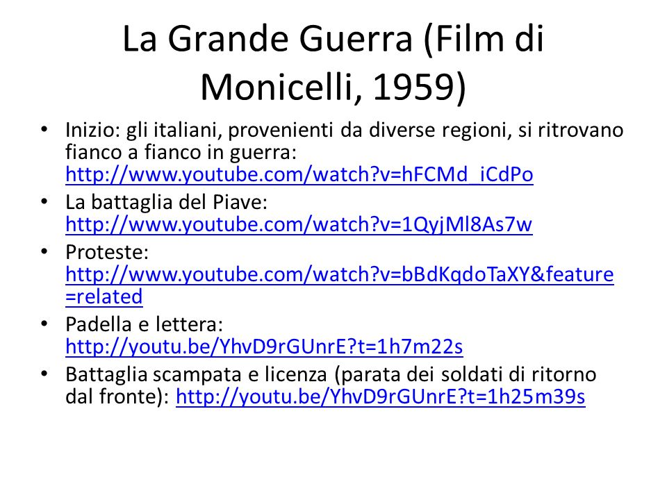 La Grande Guerra (Film di Monicelli, 1959)