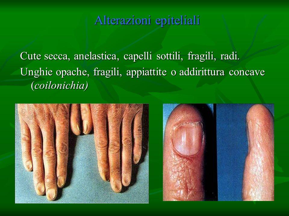 Alterazioni epiteliali