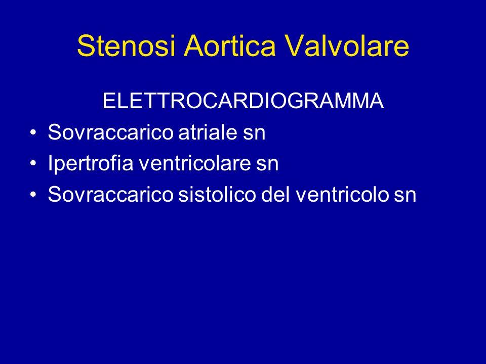 Stenosi Aortica Valvolare
