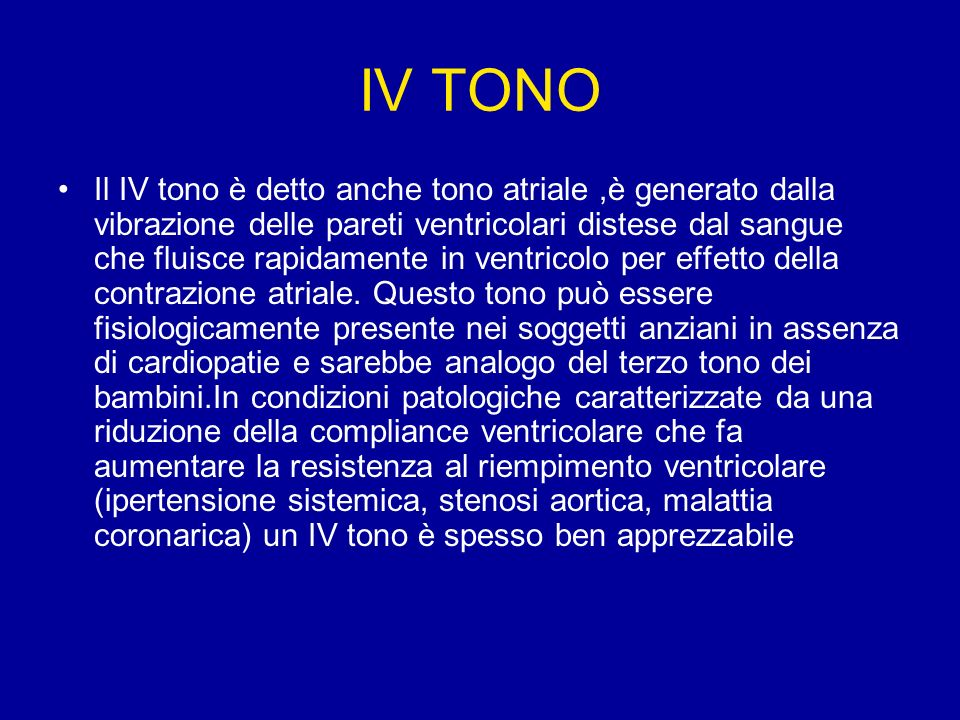 IV TONO