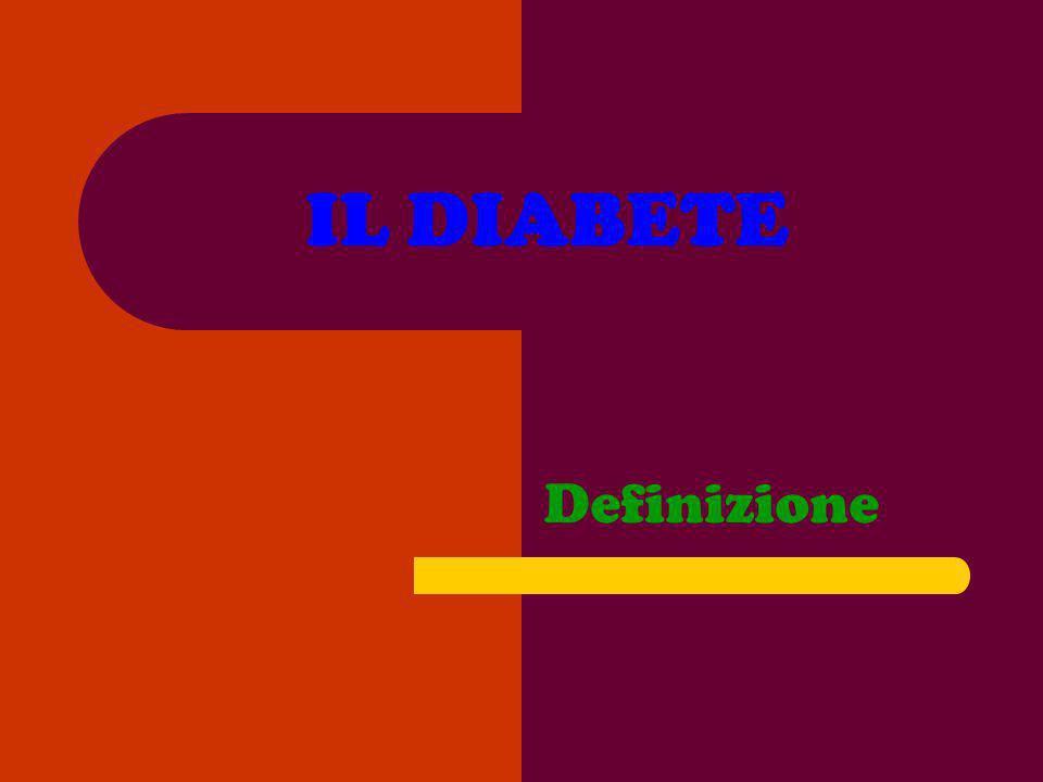IL DIABETE Definizione