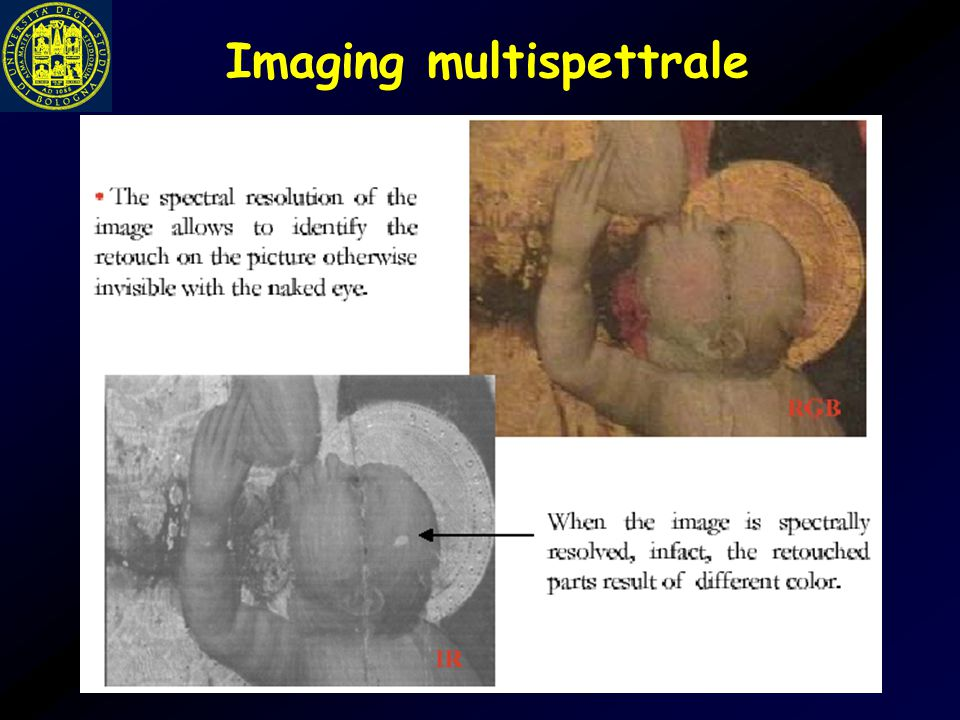 Imaging multispettrale