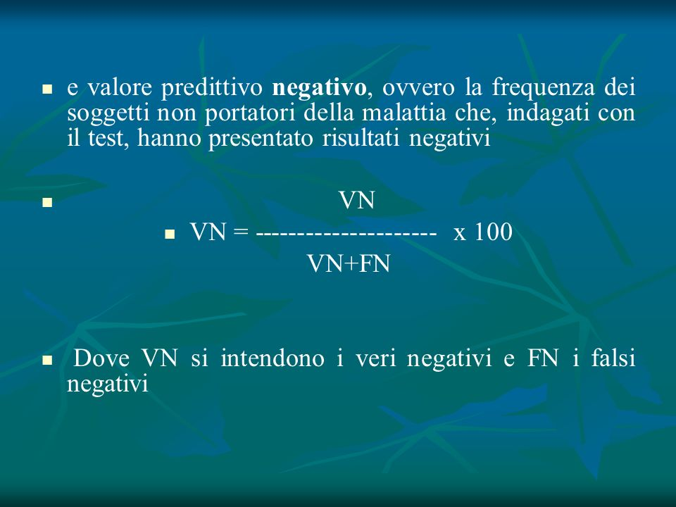 VN = --------------------- x 100