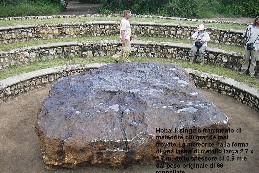 Hoba, il singolo frammento di meteorite più grande mai trovato