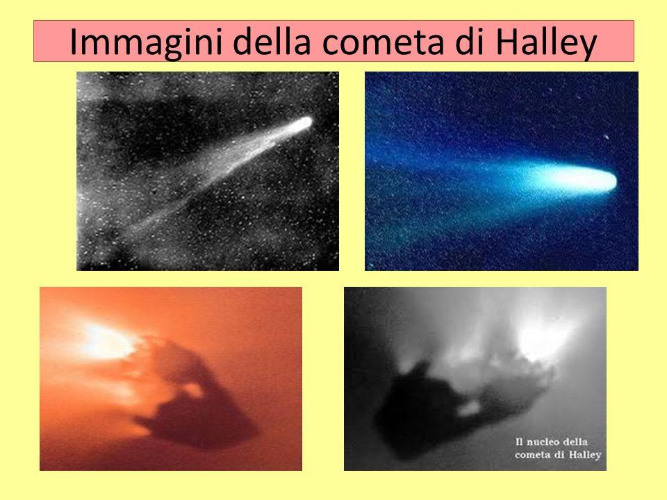 Immagini della cometa di Halley