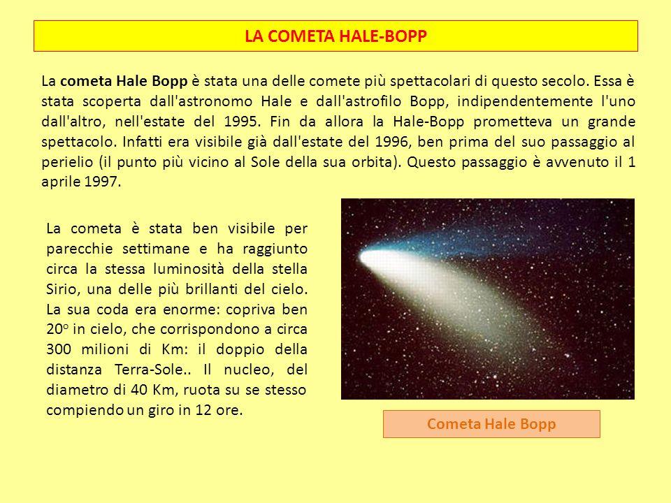 LA COMETA HALE-BOPP