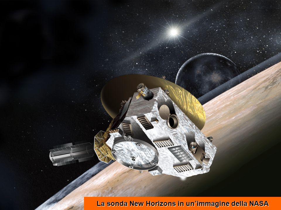 La sonda New Horizons in un'immagine della NASA