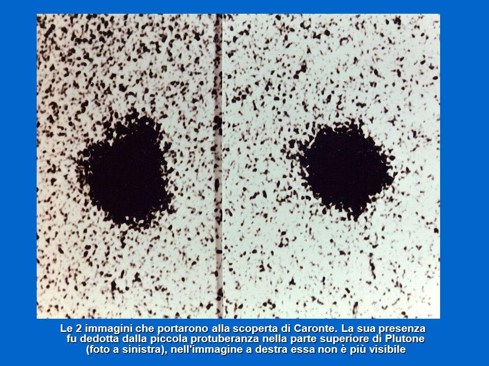Le 2 immagini che portarono alla scoperta di Caronte