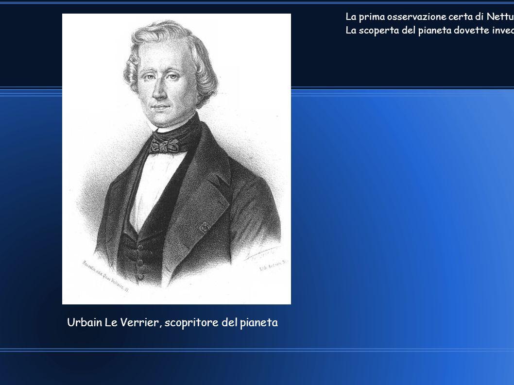 Urbain Le Verrier, scopritore del pianeta