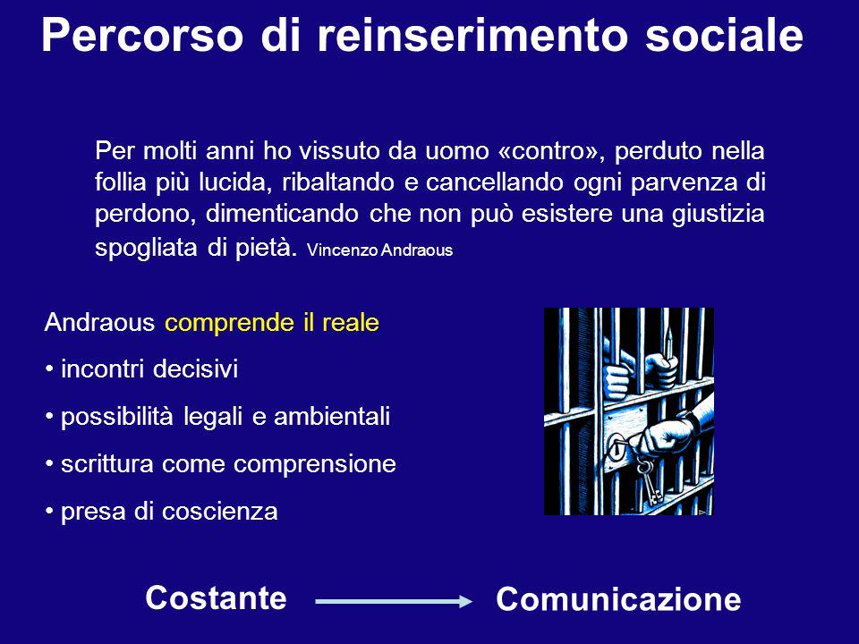 Percorso di reinserimento sociale