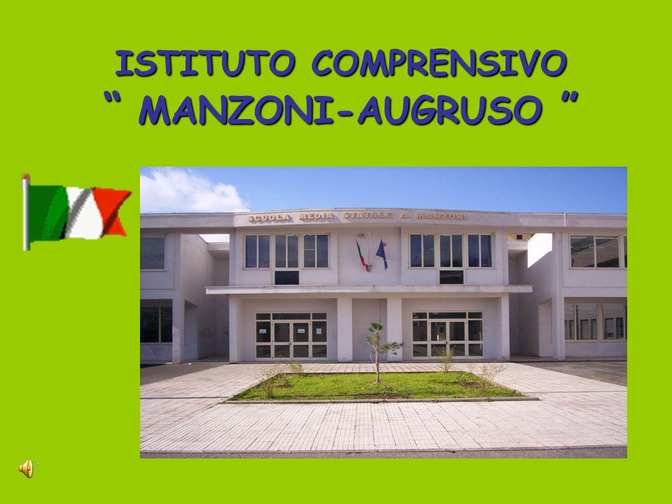 ISTITUTO COMPRENSIVO MANZONI-AUGRUSO