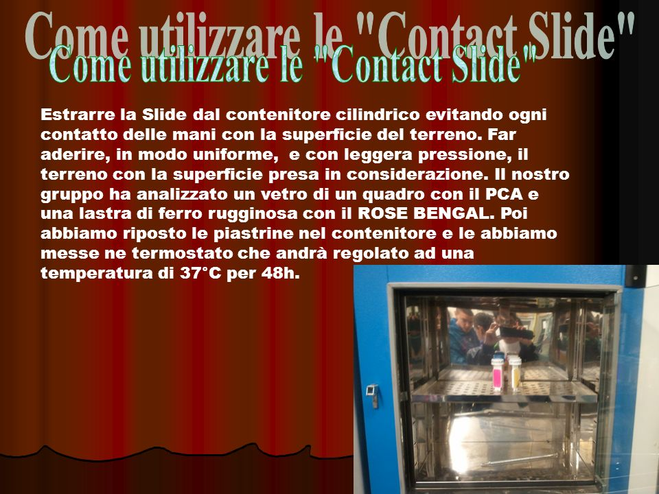 Come utilizzare le Contact Slide