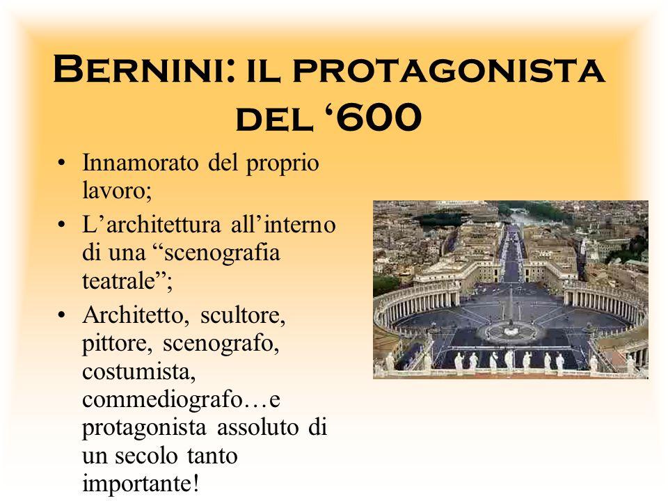 Bernini: il protagonista del '600