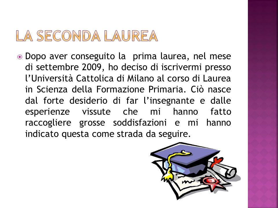 La seconda Laurea