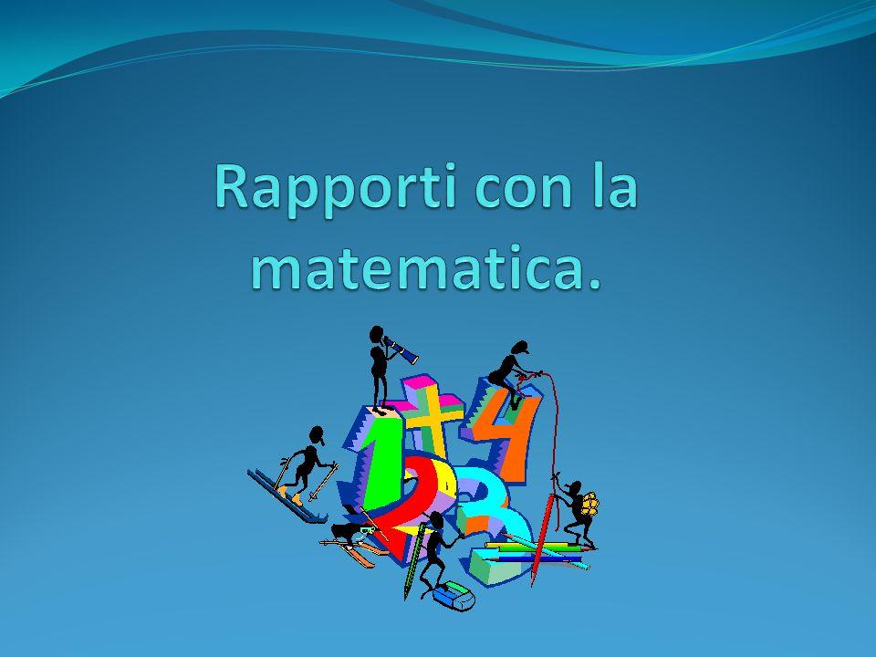 Rapporti con la matematica.