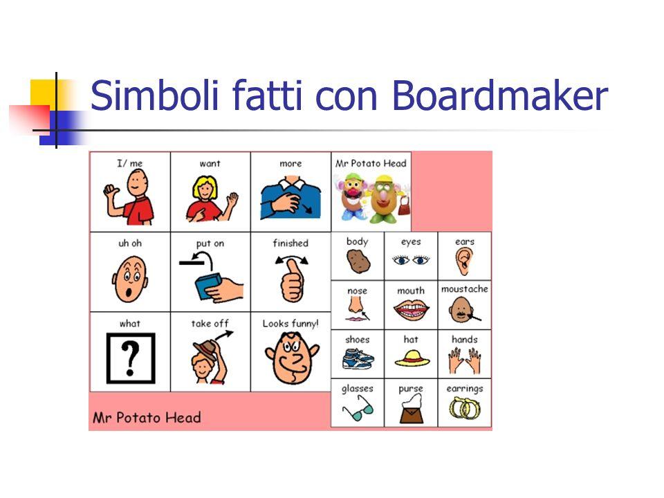 Simboli fatti con Boardmaker