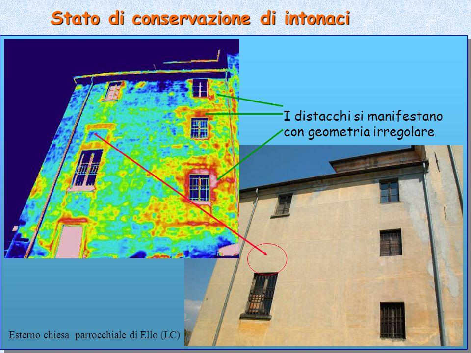 Stato di conservazione di intonaci