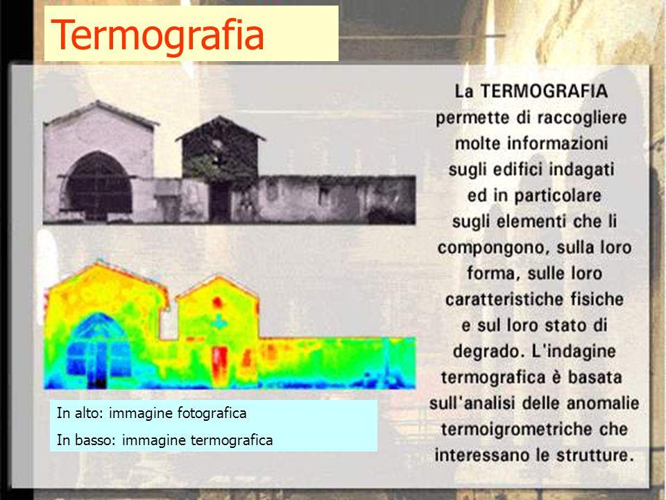 Termografia In alto: immagine fotografica