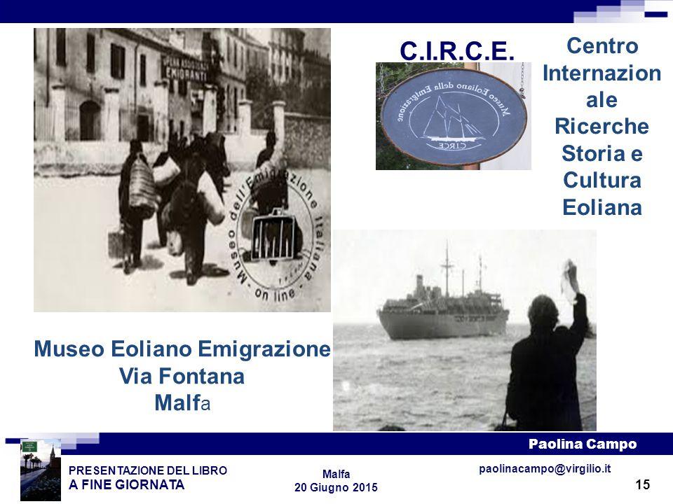 Centro Internazionale Museo Eoliano Emigrazione