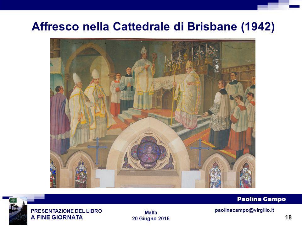 Affresco nella Cattedrale di Brisbane (1942)