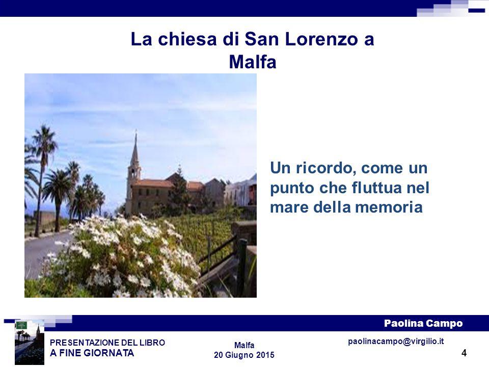 La chiesa di San Lorenzo a Malfa
