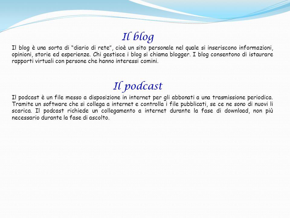 Il blog