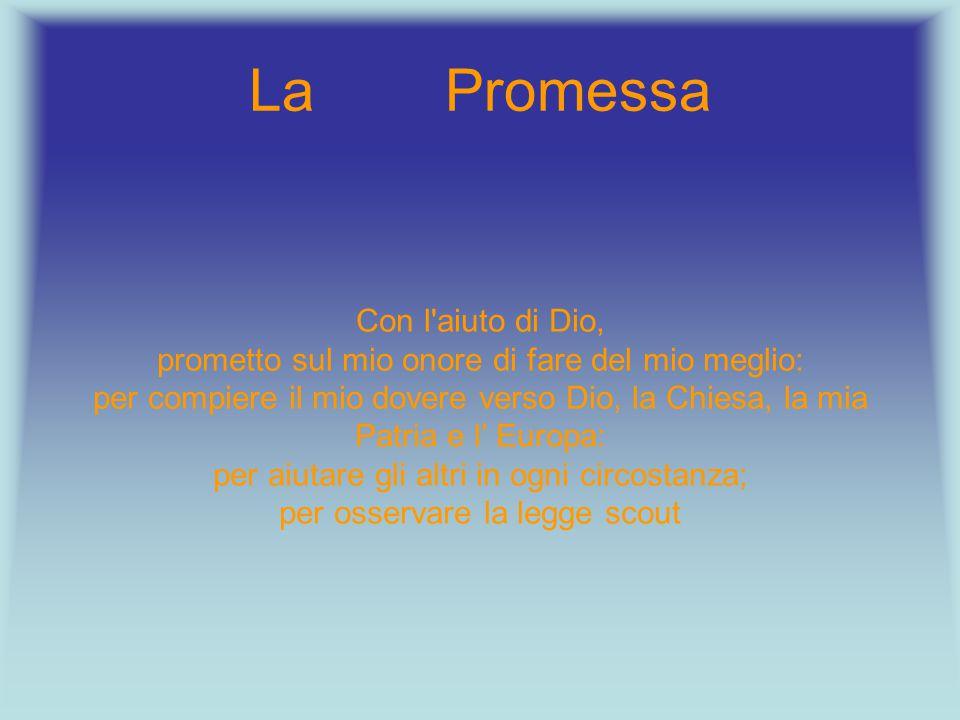 La Promessa Con l aiuto di Dio,