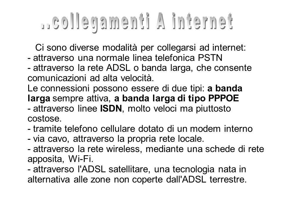 ..collegamenti A internet